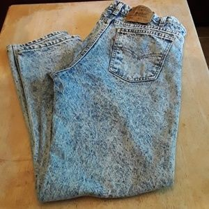 Vintage 506 acid wash orange tag Levi's